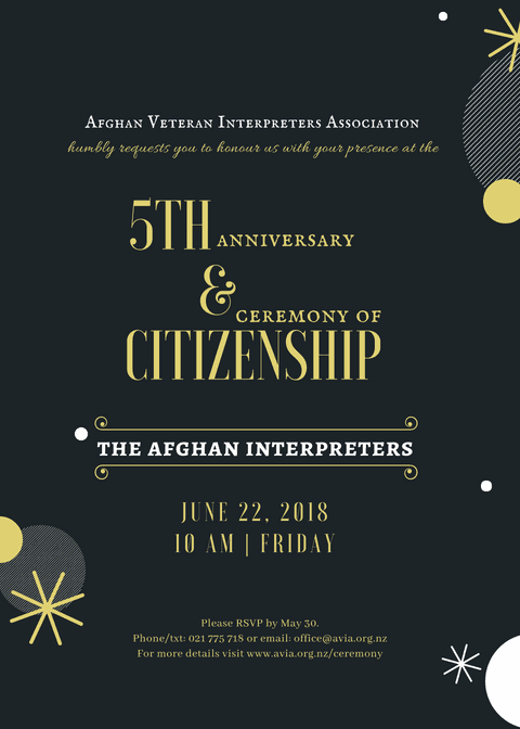 5th Anniversary and Citizenship Ceremony 2018